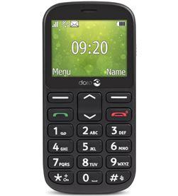 Todoelectro.es doro 1361 negro móvil senior dual sim 2.4'' cámara 2mp bluetooth radio fm m - +98645