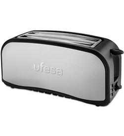 Tostador Ufesa TT7975 2 ranuras largas inox Tostadores - UFETT7975