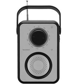 Radio portatil Sunstech RPR1170SL usb silver/negra - RPR1170SL
