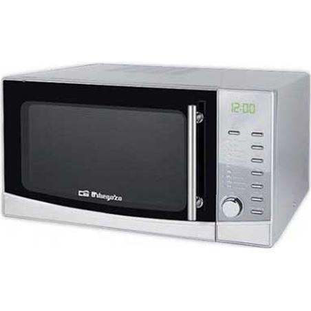 Orbegozo MIG 3420 acero inoxidable microondas con grill 1000w 34l capacidad