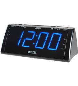 Radio reloj despertador digital Daewoo dcr-49 usb carga negro DAEDBF186 - DAEDBF186
