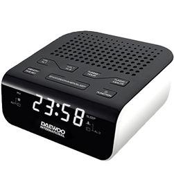 Daewo DBF124 radio reloj despertador o dcr-46w blanco - 8413240579526