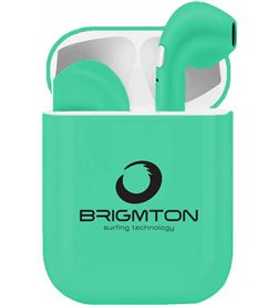 Brigmton BML-18A GREEN bml-18a verde auriculares inalámbricos manos libres bluetooth con - +20867