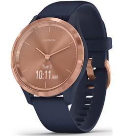 Garmin VIVOMOVE 3S ROS vivomove 3s oro rosa navy silicona reloj inteligente 39mm híbrido co - +21471