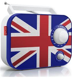 Muse M-062 UK radio analógica fm/am con altavoz integrado - +21469
