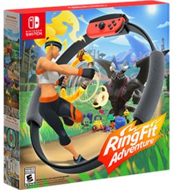 Juego Nintendo switch ring fit adventure 10001992 Consolas - 10001992