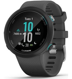 Garmin swim 2 negro con correa gris 42mm smartwatch diseñado para el agua 5 SWIM 2 BLACK GR - +21543