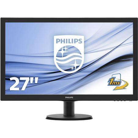 Philipl monitor 27'' lcd philips 273v5lhab - led - 16:9 273v5lhab/00 - PHIL-M 273V5LHAB