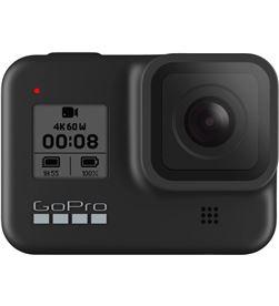 Gopro go pro hero8 negro cámara deportiva 12mp uhd 4k60 1080p240 táctil superfoto hero8 black - +21594