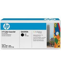 Toner orig Hp laserjet 124a negro Q6000A Impresión - 06126868