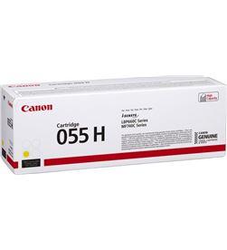 Toner amarillo Canon 055h y - 5900 páginas - compatible según especific 3017C002 - CAN-TN 3017C002