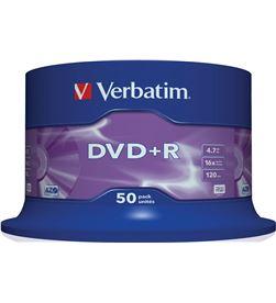 Dvd+r Verbatim advanced azo 16x 4.7gb tarrina 50 unidades 43550 - VERB-DVD+R 4.7GB 50U