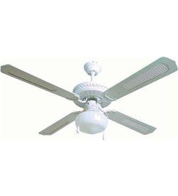 Orbegozo -VENT CL 08132 B ventilador de techo con luz cl 08132 b - 60w - 4 palas reversibles 12197 - ORB-VENT CL 08132 B