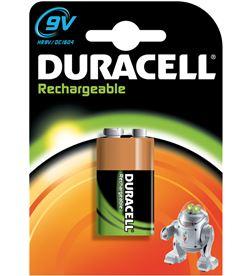 Pila recargable 9v Duracell HR9V - 170mah Cables - 9V6F22RECARGABL