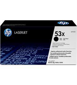 Hp Q7553X toner negro p2015 series 7000 páginas Impresión - Q7553X