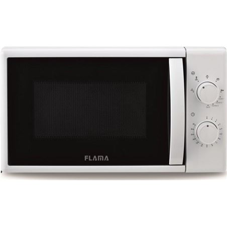 Todoelectro.es microondas con grill flama 1884fl blanco - 700w / grill 1000w - 20l - 5 pro