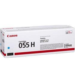 Toner cian Canon 055h c - 5900 páginas - compatible según especificacio 3019C002 - CAN-TN 3019C002
