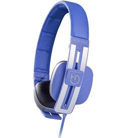 Auriculares diadema Hiditec wave blue - altavoces 40mm - 103db - microfono WHP010003 - HID-AUR WHP010003