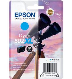 Cartucho tinta Epson 502xl - cian (6.4ml) - binoculares C13T02W24010 - EPS-C13T02W24010