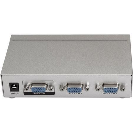 Todoelectro.es splitter multiplexor vga aisens a116-0084 - 1 entrada - 2 salidas - aumenta - AIS-MULTI A116-0084