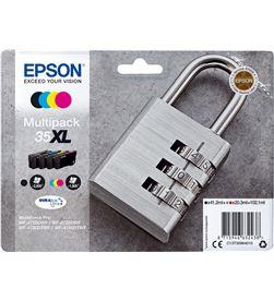 Epson C13T35964010 cartucho tinta multipack durabrite ultra ink 35xl - negro / cian / am - EPS-C13T35964010