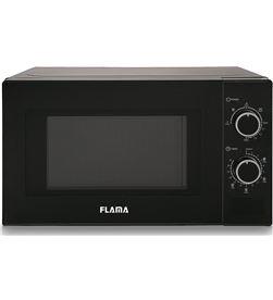 Todoelectro.es microondas con grill flama 1888fl negro - 700w / grill 1000w - 20l - 5 prog - FLA-PAE-MIC 1888FL