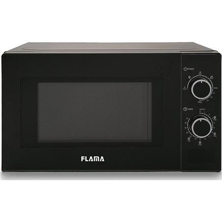 Todoelectro.es microondas con grill flama 1888fl negro - 700w / grill 1000w - 20l - 5 prog