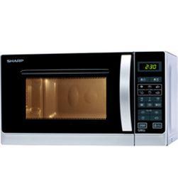 Microondas con grill Sharp R642INW - 800w (1000w grill) - 20 litros - contr - R642INW