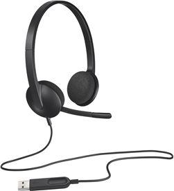 Auricular diadema con micrófono Logitech h340 - 20hz-20000hz - usb - cabl 981-000475 - LOG-AUR 981-000475
