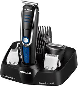 Cortapelos afeitadora Mondial BG03 multi grooming 10 - 5 cabezales - 5 guï¿ - MOND-PAE-COR BG03