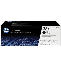 Hp CB436AD toner negro nº36a láser 2000 páginas 2 unidades p1505 / p1 - CB436AD