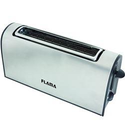 Todoelectro.es tostador de pan flama 968fl acero inox - 1000w - ranura extra ancha - termo - FLA-PAE-TOS 968FL