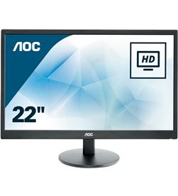 Monitor led Aoc E2270SWN - 21.5''/54.61cm - 1920x1080 full hd - 16:9 - 200cd - AOC-M E2270SWN