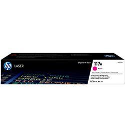 Hp W2073A toner magenta - nº117a - 700 páginas - compatible según esp - W2073A