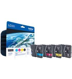 Brother LC985VALBP cartucho tinta 4 colores Impresión - LC985VALBP
