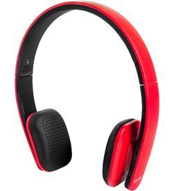 Auricular Elbe bluetooth rojo plegable ABT006R Auriculares - ABT006R