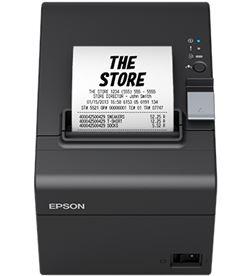 Impresora de tickets térmica Epson tm-t20iii C31CH51011 negra - velocidad - EPSON TM-T20III S BK