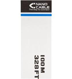Nanocable 10.20.0502 bobina de cable - rj45 - cat6 - utp - awg24 - 100m - g - NAN-CAB 10.20.0502