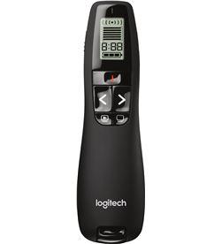 Presentador Logitech r700 inalámbrico 2.4ghz láser rojo 30mts lcd indicador 910-003506 - LOG PRESENTER R700