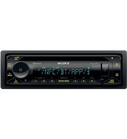 Sony MEX-N5300BT radio cd con tecnología inalámbrica usb y doble bluetooth - +20366