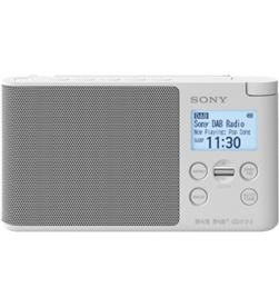 Sony XDR-S41D BLANCO radio dab/dab+ portátil con pantalla lcd presintonías - +98074
