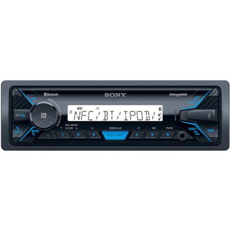 Sony DSX-M55BT receptor multimedia bluetooth nfc mega bass radio fm/am usb
