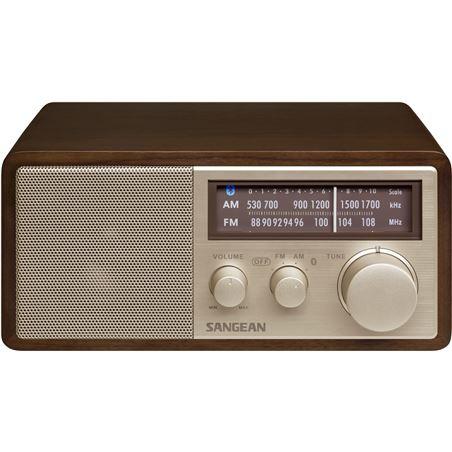 Sangean wr-11 bt nuez radio analógica sobremesa am fm bluetooth nfc WR-11 BT WALNUT - +20780