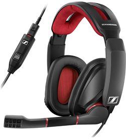 Sennheiser GSP 350 NEGRO/R ojo auriculares para gaming 7.1 con micrófono - +96713