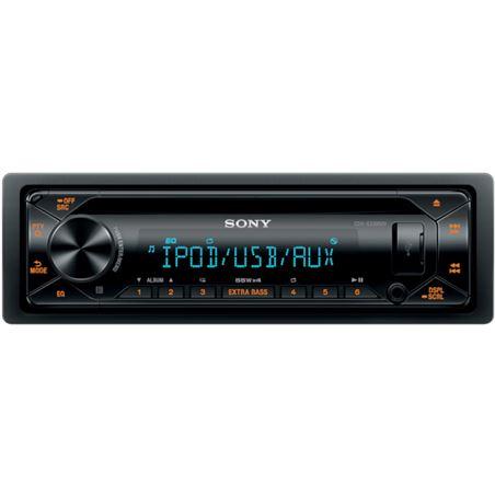 Sony cdx-CDX-G3300UV receptor de cd para coche usb pantalla lcd amplificaci