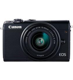 Canon KIT EOS M100 NEgro cámara compacta 24.2mp full hd digic 7 wifi nfc bl - +98537