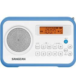Sangean PRD18 B-A azul blanco radio digital portátil fm am pantalla lcd ala - +87182