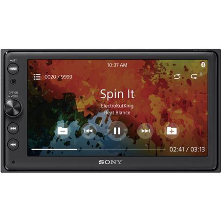 Sony XAV-AX100 receptor multimedia con pantalla de 6.4'' para el coche con