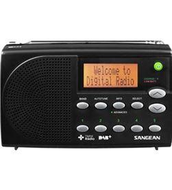 Sangean dpr-65 negro radio digital portátil fm con rds y dab+ pantalla lcd DPR-65 BLACK - +20776