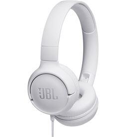Jbl TUNE 500 BLANCO auriculares pure bass cable plano sin enredos - +95897